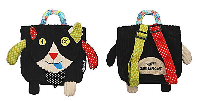 Deglingos- Mini-Rucksack Charlos die Katze