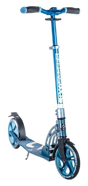 Six Degrees Aluminium Scooter 205 Roller Blau Modell 2020
