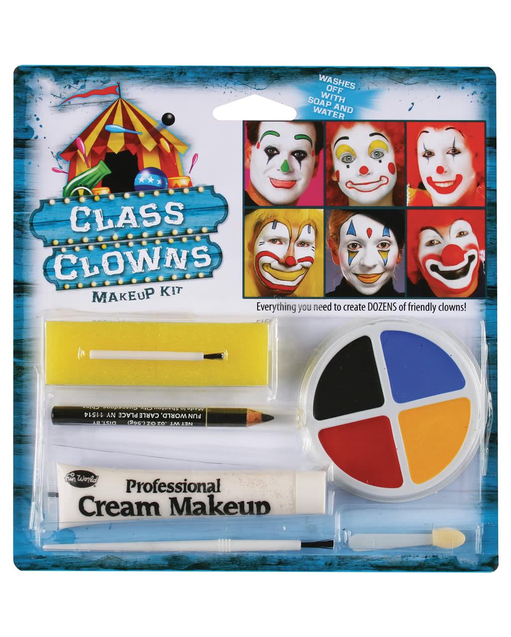 Family Clown Make Up Set  Clown Schminke kaufen