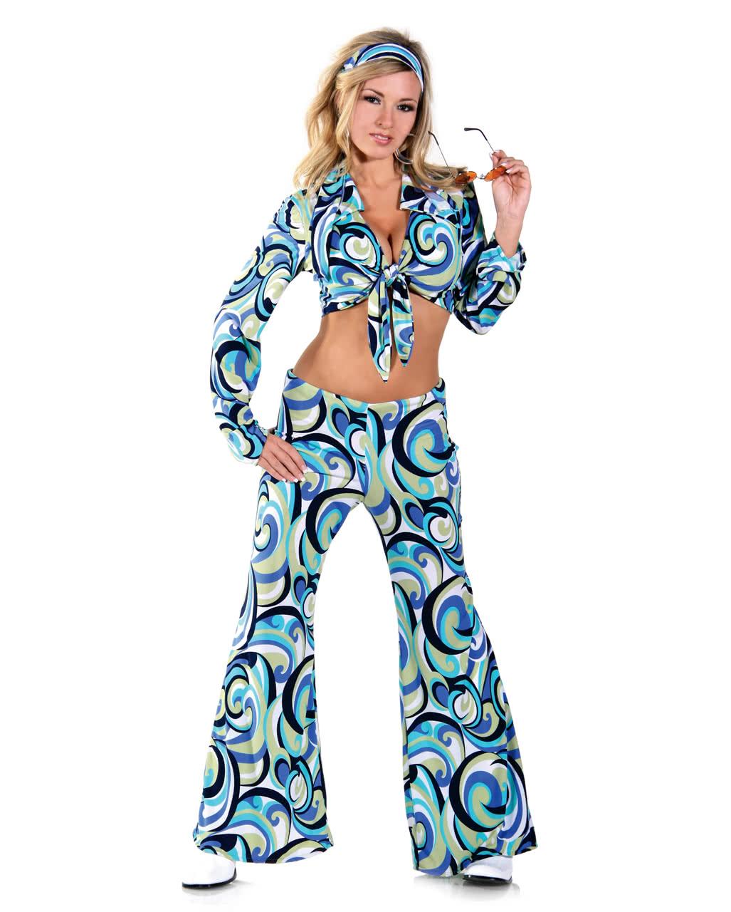 Funky Hippie Kostüm XLarge  Faschingskostüme in Plus Size