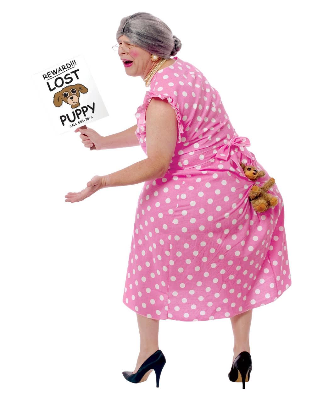 Hunde Oma Kostüm Lost Puppy Witzige Karnevalskostüme Party Kostüme