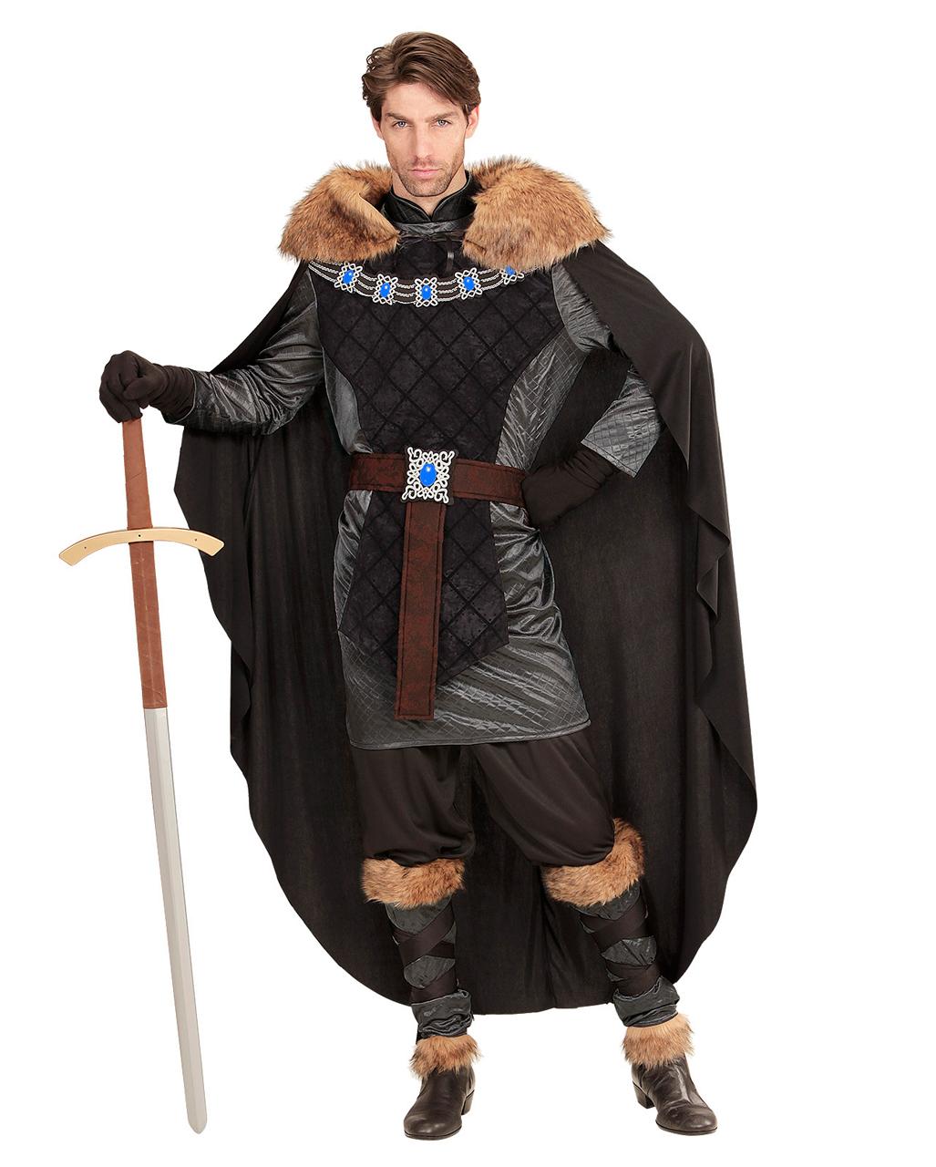 Mittelalter Prinz Kostüm für Halloween L