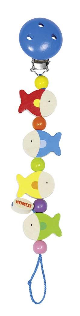 Heimess 34610 - Schnullerkette Fische