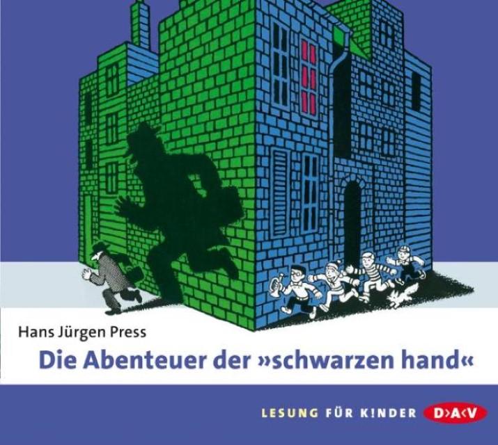 Die Abenteuer der \ schwarzen hand\ , 2 Audio-CDs