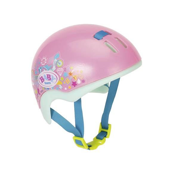 Zapf Creation� 827215 - BABY born� Play&Fun Fahrradhelm 43cm, Puppen-Fahrradhelm, rosa/mint