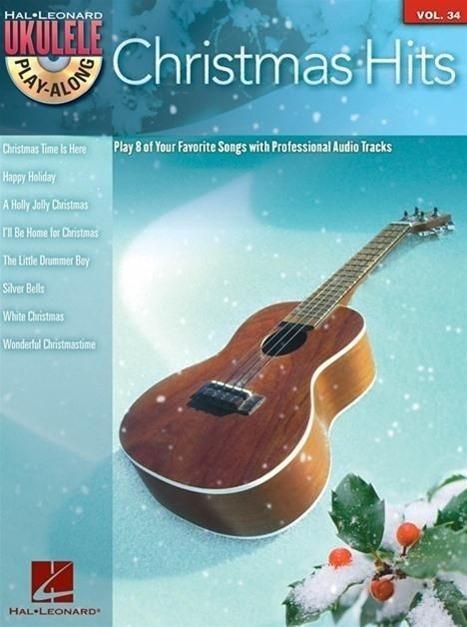 Christmas Hits: Ukulele Play-Along Series Volume 34 [With CD (Audio)]