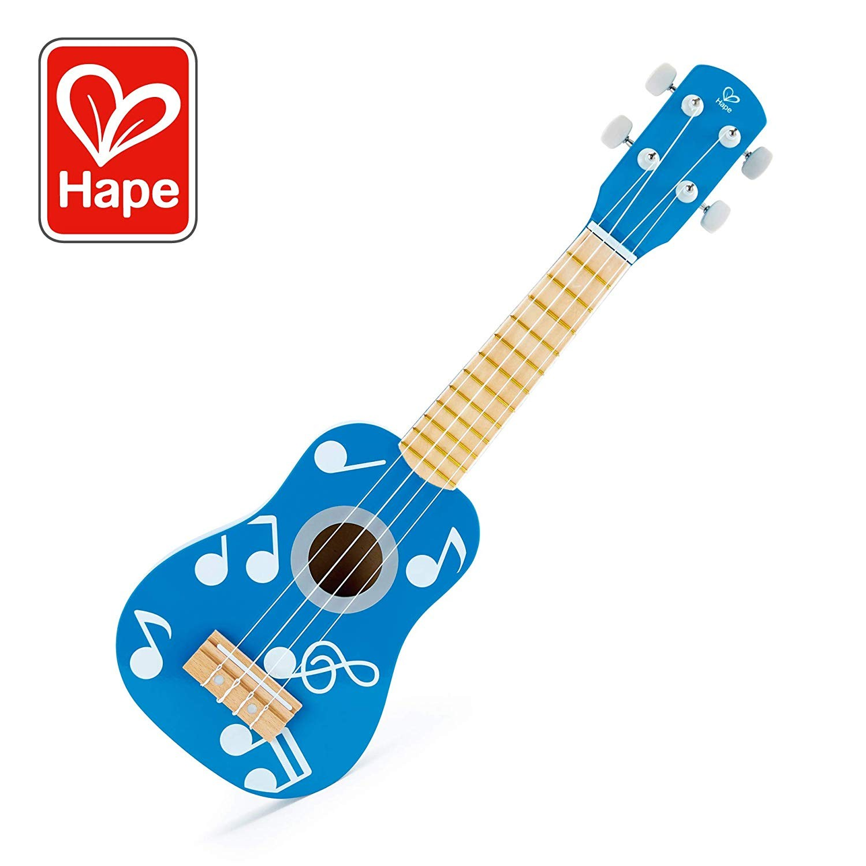 Hape E0604 - Ukulele Blaue Lagune, Musikinstrument