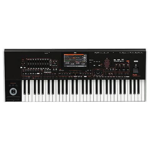 Korg Pa4X international 61 Keyboards, Orgeln