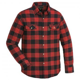 Pinewood Texas Holzfäller-Hemd Flanellhemd Herren Langarm