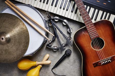Instrumente auf Rechnung kaufen