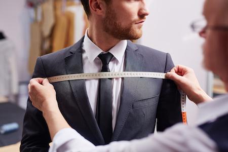 rechnungskauf von einem anzug