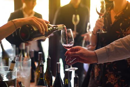 Rechnungskauf von Wein