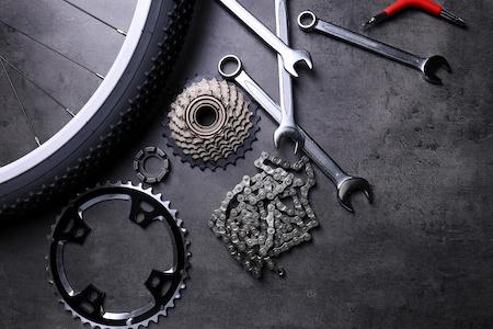 Fahrradteile Rechnungskauf