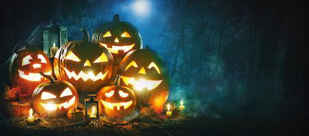 Halloween Rechnungskauf