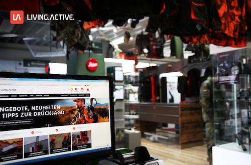 LivingActive Shop Portrait